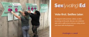 Voting is Sexy Class at University of Michigan